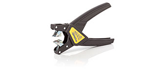 Flat cable stripper